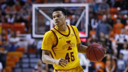 Rasir Bolton during a game for Iowa State on Feb. 29, 2020.