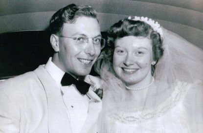 Betty and Herbert Sauter celebrated their 65th anniversary - Original Credit: Courtesy Photo