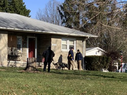 Harford County Sheriff's detectives are investigating a homicide in the 1400 block of Hanson Road on Tuesday, Dec. 15.