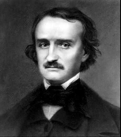 Undated photo of Edgar Allen Poe.