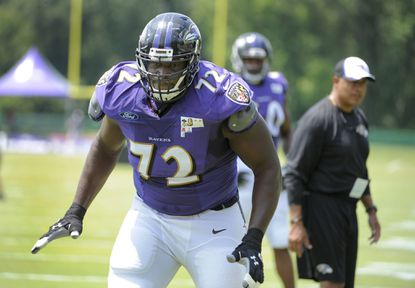 The fact that Kelechi Osemele is practicing doesn't guarantee that he'll play Sunday.