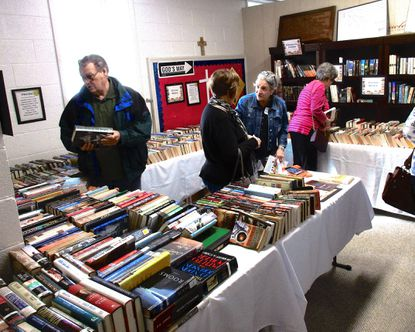 """Mount Zion United Methodist Church in Finksburg will run its sixth annual """"Books … and More Sale"""" during its pancake brunch on Saturday, March 28."""