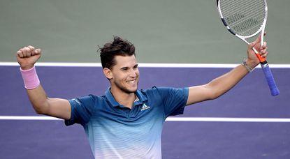 Dominic Thiem tops Roger Federer for BNP Paribas Open title