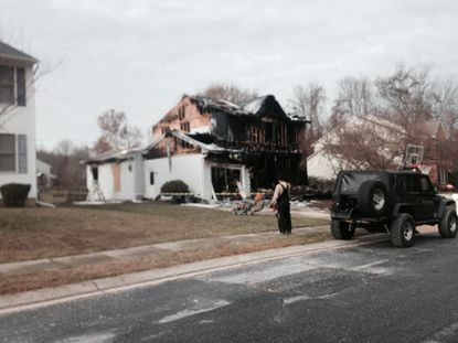 An early morning fire in Havre de Grace destroyed this home.