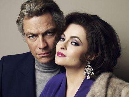 Dominic West and Helena Bonham Carter as Richard Burton and Elizabeth Taylor. I think I like it.