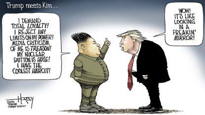 Trump meets Kim: It's like looking in the mirror
