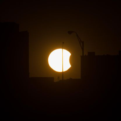 Marylanders won't be able to view a total solar eclipse on Aug. 21, but will have the chance to view a partial solar eclipse with approximately 85 percent of the sun covered.