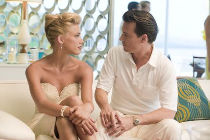 """Amber Heard and Johnny Depp in """"The Rum Diary"""""""