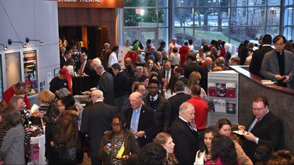 People enjoy the festivities at 2018's Celebration of the Arts in Howard County. This year's gala will be Saturday.