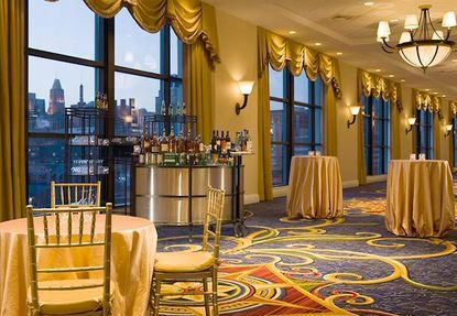 A ballroom at the Baltimore Marriott Waterfront