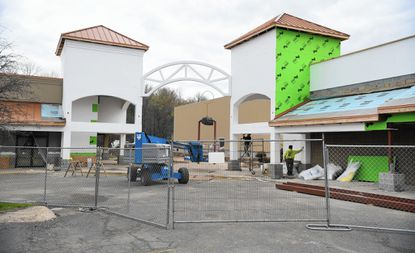 Owners of Fallston Village Center, formerly Fallston Mall, have lobbied for legislation currently before the Maryland General Assembly that would create a license to allow the sale of alcoholic beverages in the seven-screen theater slated to open this summer in the renovated shopping center.