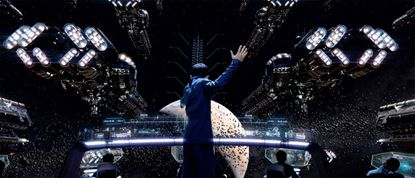 """A scene from """"Ender's Game."""""""