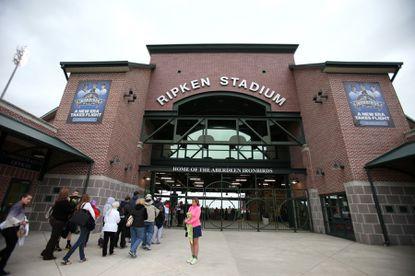 Ripken Baseball is looking for a naming-rights sponsor for Ripken Stadium, home of the minor-league Aberdeen IronBirds.