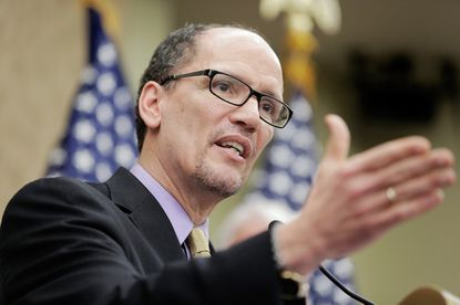 U.S. Labor Secretary Thomas Perez, shown here in Washington, addressed Maryland teachers at a conference in Ocean City Friday.