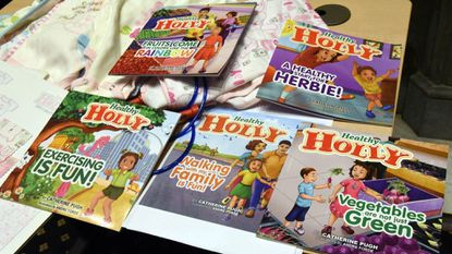"""The character Healthy Holly plays a pivotal role in the Single Carrot Theatre's new production of """"Healthy Holly's Hidden Hideaway."""""""