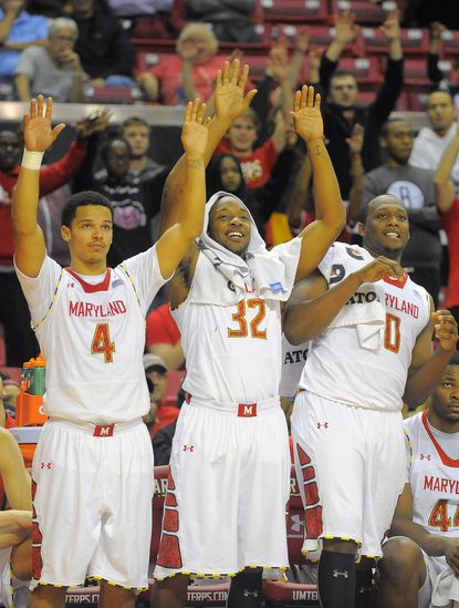 Turgeon and Terps relax and have some fun vs. UMES