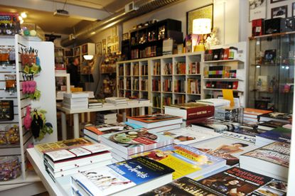 Atomic Books, shown here in 2010, will expand and add a bar later this year.