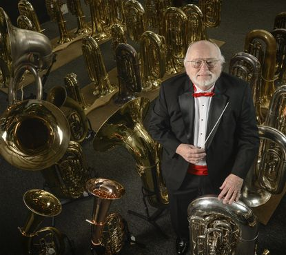 Why you need to know Randy Harrison, coordinator of Merry Tuba Christmas Bel Air