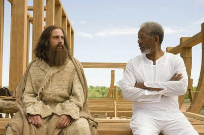 A scene from Evan Almighty.
