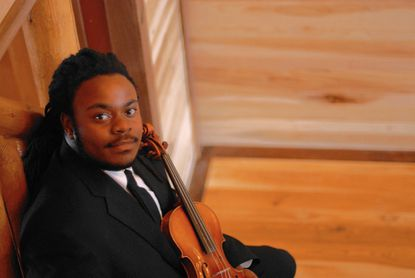 Violinist Joshua Coyne