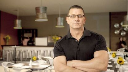 """Robert Irvine hosts the Food Network show """"Restaurant: Impossible,"""" which will film at Essex restaurant Al's Seafood in June."""