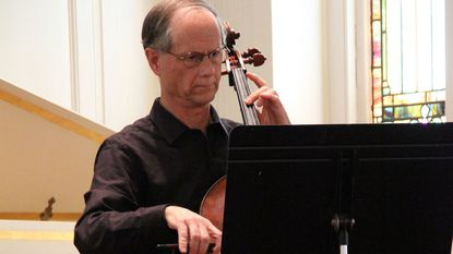 Tim Anderson, on cello, will perform with Washington's Camerata as part of McDaniel College's MondayNight Music series on Monday, Sept. 17.