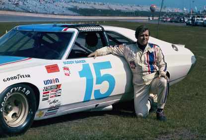 Buddy Baker, a former Daytona 500 winner and NASCAR Hall of Fame nominee, has died after a brief battle with lung cancer. Baker was 74.This 1975 file photo shows Baker at Daytona Speedway in Daytona Beach, Fla.