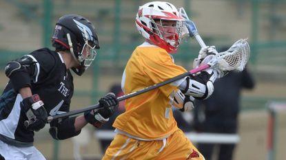 Calvert Hall lacrosse player Jacob Kelly.