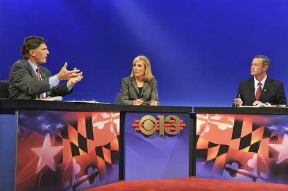 WJZ debate between Governor Martin O'Malley and Republican challenger, former Gov. Robert Ehrlich, moderated by Denise Koch.