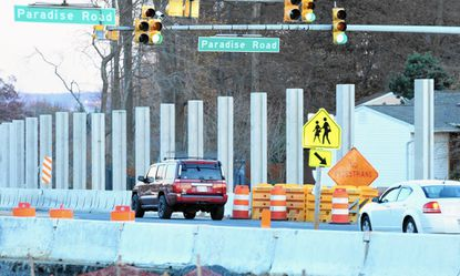 The State Highway Administration is overseeing a slew of improvements, along Rt. 22 including installation of the first highway noise barriers in Harford County, between the intersection with Beards Hill Road and the main gate at Aberdeen Proving Ground.