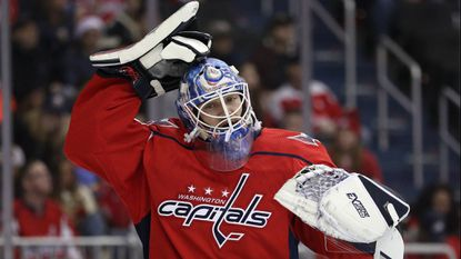 North Pole, Alaska, is home to roughly 2,200 people, including Washington Capitals goalie Pheonix Copley.