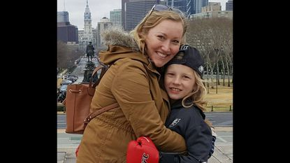 Jill Snell and her son Beau