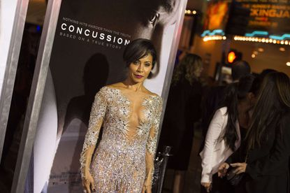 Jada Pinkett Smith donated $10,000 to a program benefiting victims and witnesses of crime in Baltimore.