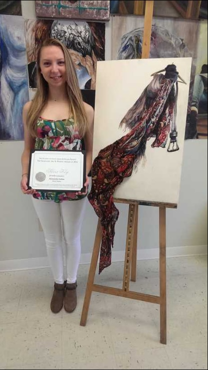 National recognition for artist Ally Schito [Ellicott City]