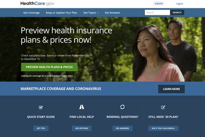 This image provided by U.S. Centers for Medicare & Medicaid Service shows the website for HealthCare.gov. With the Affordable Care Act now secure in the framework of the nation's health care programs, Democrats are eager to leap above and beyond. They want to expand insurance coverage for working-age people and their families, add new benefits to Medicare for older people and reduce prescription drug costs for patients and taxpayers. (U.S. Centers for Medicare & Medicaid Service via AP)