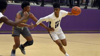 Mount Saint Joseph basketball player James Bishop has committed to play for Louisiana State University.