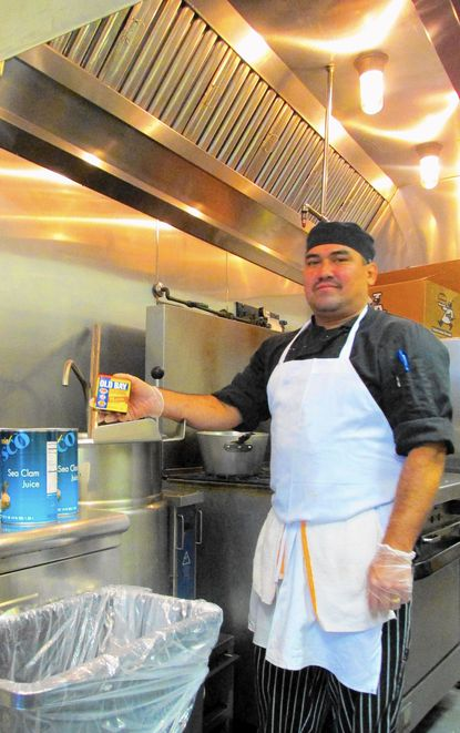Head Chef David Cedillo will be representing Barrett's grill in Hunt Valley in a cook-off at the Old Bay Festival taking place at Padonia Park Club in Cockeysville on Sept. 20.