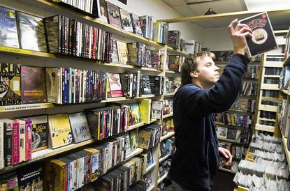 Gary Engle has been shopping for obscure titles at Video Americain for years, and now the Charles Village landmark is closing its doors, leaving north Baltimoreans with few video store options in the area.