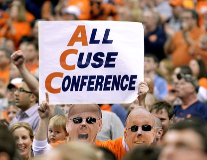 Maryland and Syracuse play their only regular season game as ACC opponents on Monday night.