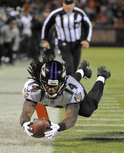 Ravens' rookie class showing signs of progress