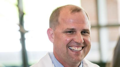 John-Paul Rue, M.D., orthopedic sports medicine surgeon at Mercy Medical Center in Baltimore