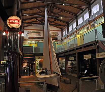 The Calvert Marine Museum is within walking distance of the marina and always worth visiting.