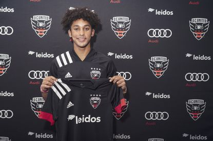 Jacob Greene of Crofton signed a homegrown contract with D.C. United in November. The 17-year-old will officially kick off his career later this month when training camp begins.