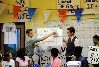 'Voters of tomorrow' weigh in on 2012 election