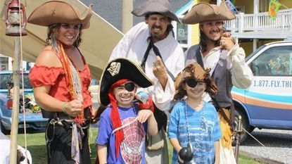 The OBX Pirate Festival on Aug. 14-15 offers a living history pirate encampment, mermaids and a scallywag school for kids.