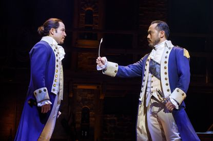 """""""Hamilton"""" returns to the Hippodrome Theatre between June 8 and July 3, 2021."""