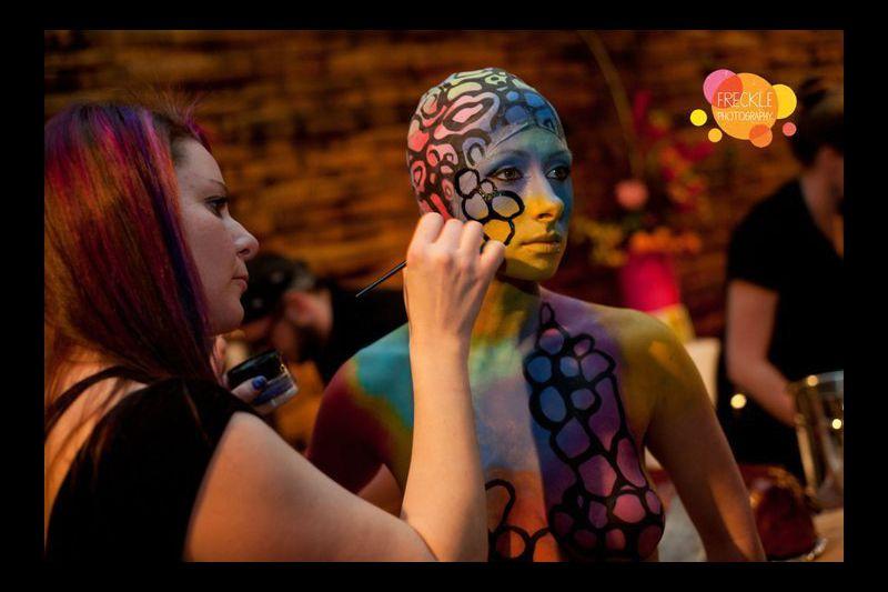 Local Body Painter Explores The Art Of Healing Baltimore Sun