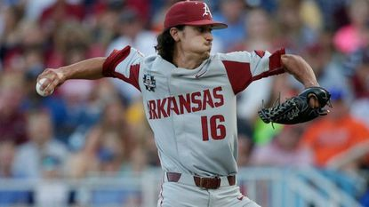 Orioles third-round draft pick Blaine Knight, who pitched at the University of Arkansas, will make his first professional outing Friday for short-season Class-A Aberdeen.