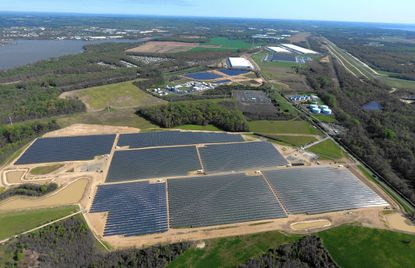 Perryman solar farm offsets use of fossil fuels to generate power for Baltimore region