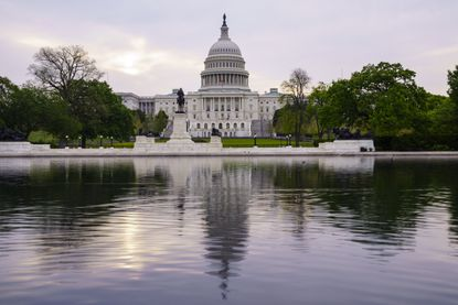 FILE - This April 28, 2021, file photo shows the U.S. Capitol building in Washington.